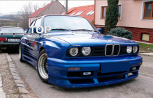 6620 Передний бампер Rieger на BMW 3 E30