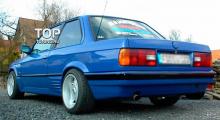 6621 Накладки на пороги Coupe на BMW 3 E30