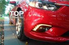 6623 Дневные ходовые огни Epic BERSERK на Mazda 6 GJ
