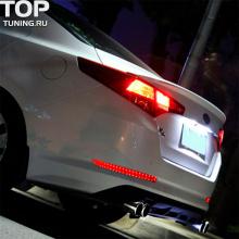 6625 Светодиодные фонари заднего бампера Audi Style на Kia Optima 3 (K5)