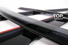 6628 Дефлекторы на окна BLACK на Kia Ceed 1