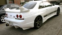 664 Сполер Veil Side на Nissan Skyline R33