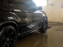 6649 Накладки на пороги Performance Style на BMW X5 E53