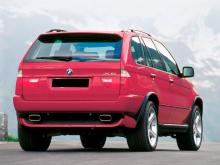 6651 Задние расширители арок на BMW X5 E53