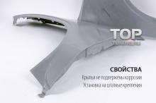 Штатные пластиковые крылья - Тюнинг БМВ Х5 Е53 (рестайлинг, 2003+)