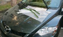 6654 Щетки стеклоочистителя Character Spoilers type на Mazda CX-7