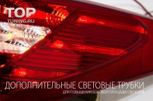 Новинка! Светодиодная оптика для Хендэ Аикс 35 - нового поколения. Задние фонари АМГ Стиль - Красные. IX35 первого поколения, рестайлинг (2013-2016).