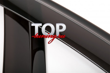 6657 Дефлекторы Оригинальные Седан - до 2009 года на Mazda 3 BK