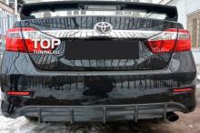 6658 Спойлер с дополнительным стоп-сигналом TRD на Toyota Camry V50 (7)