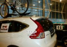 Спойлер на пятую дверьGT под штатный стоп-сигнал - Тюнинг Хонда CR-V (4 поколение)