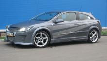 Пороги для Opel Astra H GTC - обвес PAM.