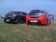 Задний бампер для Opel Astra H GTC обвес PAM