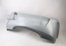 Задний бампер - Модель РАМ - Тюнинг Опель Астра H GTC