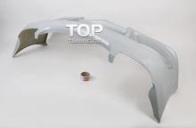 Передний бампер - Модель NTC - Тюнинг Мерседес SLK R170.