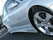 Пороги Wide Body на VW Passat 3B