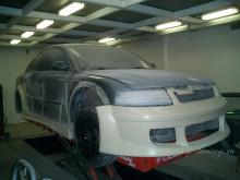 Обвес DTM ExtremeWide Body на VW Passat B5