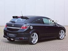 709 Накладка на задний бампер Steinmetz на Opel Astra H GTC