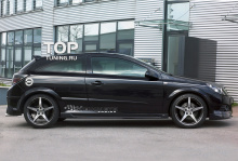 Накладки на пороги - Модель Steinmetz - Тюнинг Opel Astra H GTC
