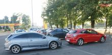 Задний тюнинг бампер для Opel Astra H стиль LMA