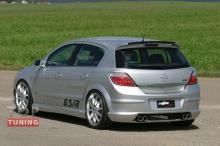 Тюнинг пороги Opel Astra H GTC / R - дизайн LMA