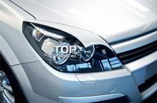 726 Реснички - широкие Irmsсher на Opel Astra H GTC