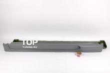 733 Пороги - Обвес Ings +1 на Subaru Impreza WRX GD