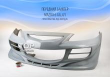 Передний бампер - Модель EXE - тюнинг Mazda 6 (кузов GG, GY)