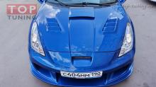 Капот с жабрами Top-tuning на Toyota Celica T23.