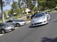 Обвес Wide Body - пороги K1 на Toyota Celica T23