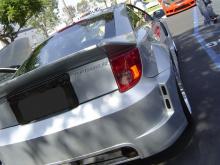 Обвес Wide Body - расширители задних крыльев K1 на Toyota Celica T23