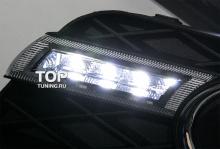 7792 Дневные ходовые огни Epic LED на Honda Civic 9