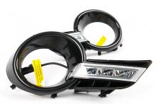 7794 Дневные ходовые огни Epic LED DRL на Toyota Highlander XU40