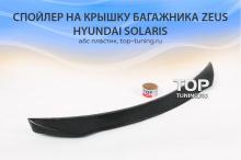 7796 Аэродинамический обвес Zeus на Hyundai Solaris