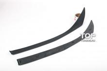 Накладки на переднюю оптику Зевс - Тюнинг Toyota Highlander (3 поколение)