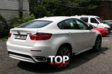7804 Накладки на пороги Performance Max на BMW X6 E71