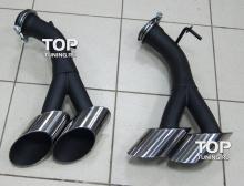 7805 Сдвоенные выхлопные трубы GT на BMW X6 E71