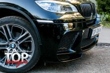 7807 Передний бампер Performance PRO на BMW X6 E71