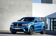 7824 Декоративные накладки на жабры Рестайл на BMW X6 F16