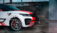 Передний бампер - Обвес Renegade - ТюнингLand RoverRange Rover Sport (2-ое поколение)
