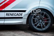 7840 Комплект расширителей арок Renegade на Land Rover Range Rover Sport 2