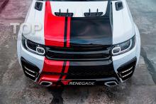 7841 Решетка радиатора Renegade на Land Rover Range Rover Sport 2