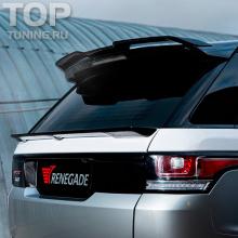 7843 Накладка на верхний спойлер Renegade на Land Rover Range Rover Sport 2