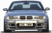 Передний бампер - Тюнинг BMW E46 - Обвес Seidl.