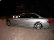 Тюнинг - Задний бампер обвеса Seidl на BMW 3 E46