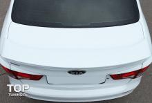 7861 Спойлер на крышку багажника Evolution на Kia Rio 3
