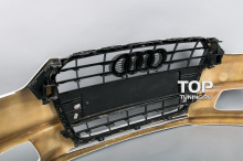 7865 Передний бампер Laser Crossfire на Audi A4 B8