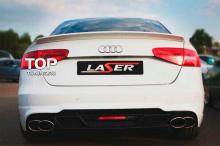 7866 Задний бампер Laser Crossfire на Audi A4 B8