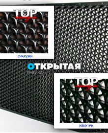 7912 Пластиковая тюнинг сетка Propeller 100 x 60