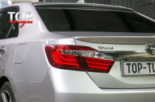 Спойлер на крышку багажника OEM Style - Тюнинг Тойота Камри V50 (7 поколение)