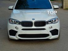 7925 Сплиттер на передний бампер X5M на BMW X5 F15
